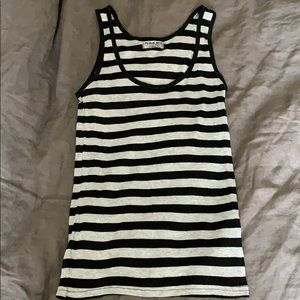 Michael stars striped tank